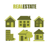 Real estate design — Stockvector