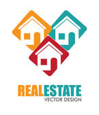 Real estate design — Stok Vektör