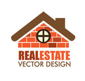 Real estate design — Vector de stock