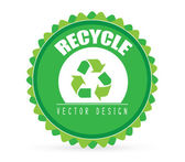 Recycle design — Stock Vector