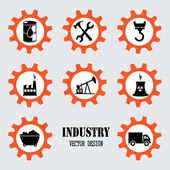 Industry design — Vector de stock