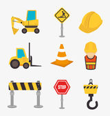 Construction — Vector de stock