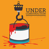 Under construction — Wektor stockowy