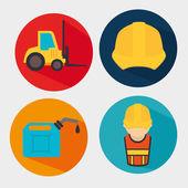 Construction — Stock Vector