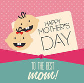 Mothers day — Stockvector