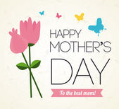 Mothers day — Vector de stock