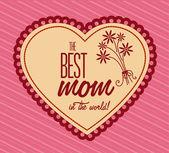 Festa della mamma — Vettoriale Stock