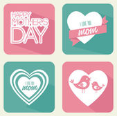 Mothers day — Stockvektor