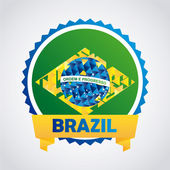 Brazil Design — Stock vektor