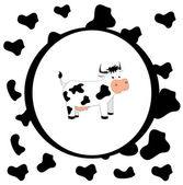 Cow design — Stock Vector