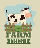 Farm design — Vetorial Stock