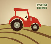 дизайн фермы — Cтоковый вектор