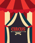 Circus design — Stock Vector
