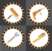 Tools design — Stock Vector
