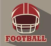 American football design — Stock Vector
