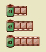 Film design — Stock Vector