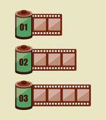 Film design — Stock Vector