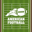 American football — Stock Vector #43786341