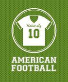 Football américain — Vecteur