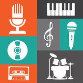Conception de la musique — Vecteur
