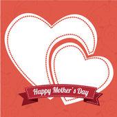 Diseño del día de madres — Vector de stock