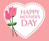 Projekt dzień matki — Wektor stockowy