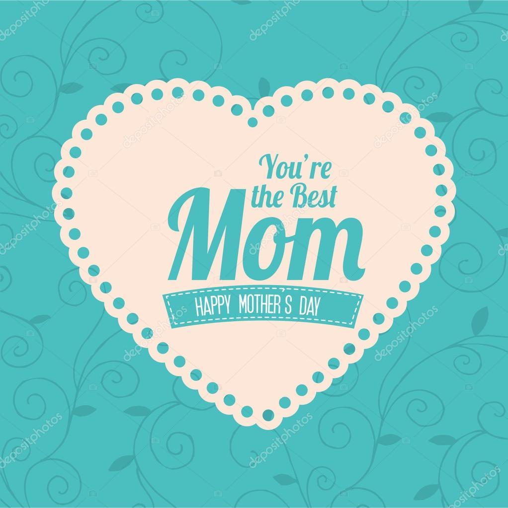 mothers day design u2014 stock vector yupiramos 43791925