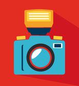 Conception de la photographie — Vecteur