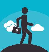 Pengar design — Stockvektor