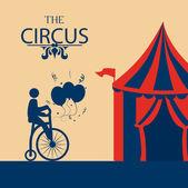 Circus diseño — Vector de stock