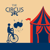 Circus design — Stockvektor