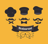 Projekt restauracji — Wektor stockowy