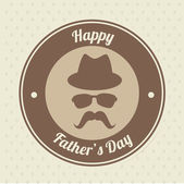 Fathers day design — Stock vektor