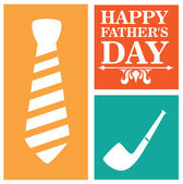 Fathers day design — Stock Vector