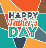 Fathers day design — Vecteur