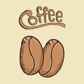 Projeto café — Vetor de Stock