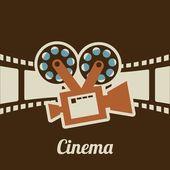 Cinema design — Stock Vector