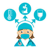 Diseño médico — Vector de stock