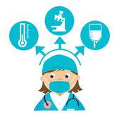 Medische ontwerp — Stockvector