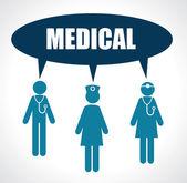 Medical design — Vettoriale Stock