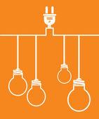 Lampa design — Stockvektor