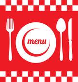 Restaurang design — Stockvektor