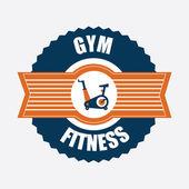 фитнес дизайн — Cтоковый вектор