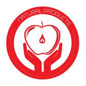 Progettazione di frutta — Vettoriale Stock
