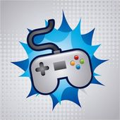 Video game design — Stock Vector