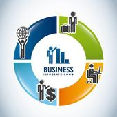 Diseño de negocios — Vector de stock