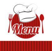 Restoran tasarımı — Stok Vektör