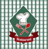Restaurant ontwerp — Stockvector