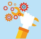 Narzędzia projektowania — Wektor stockowy