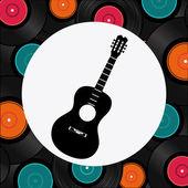 Musik-design — Stockvektor